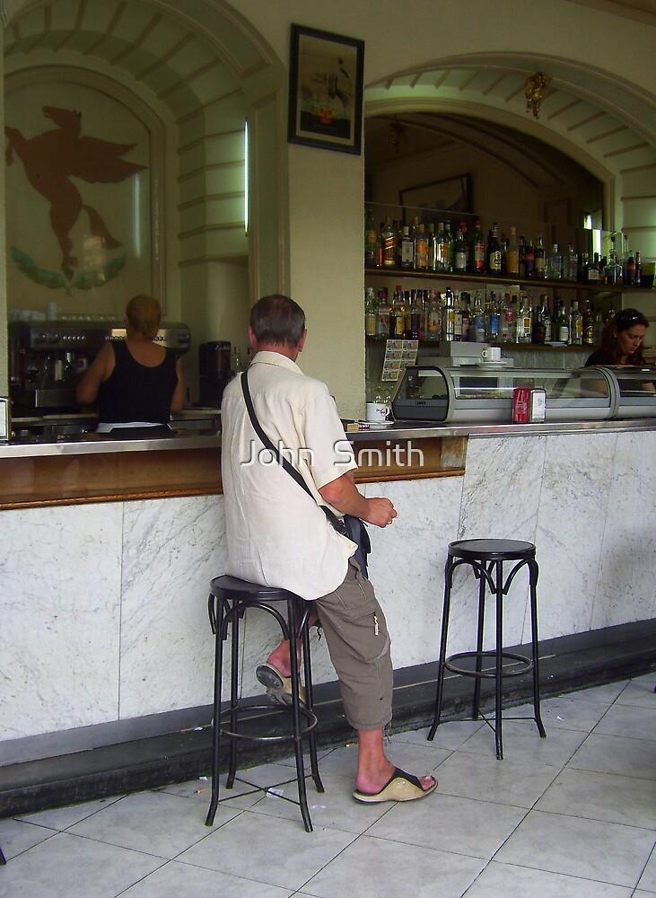 """ Bar Alone."" by John  Smith"
