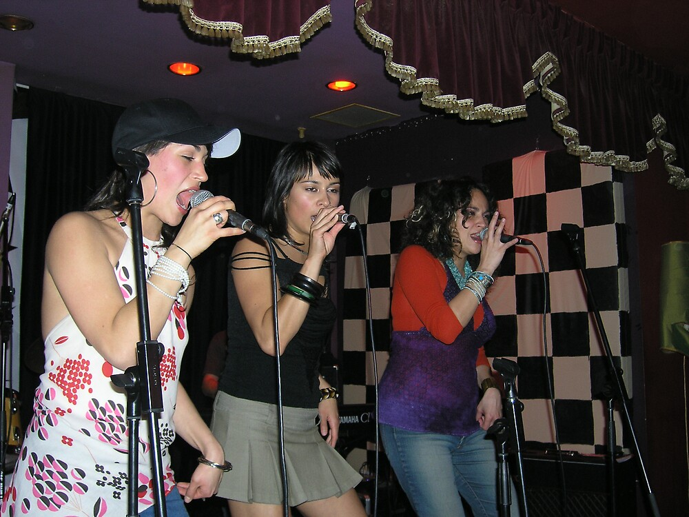 Live Girl Band by Purple20