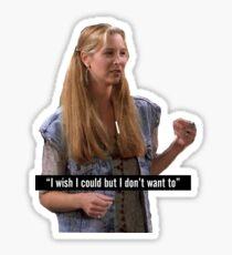 Phoebe Buffay Friends TV Show Sticker