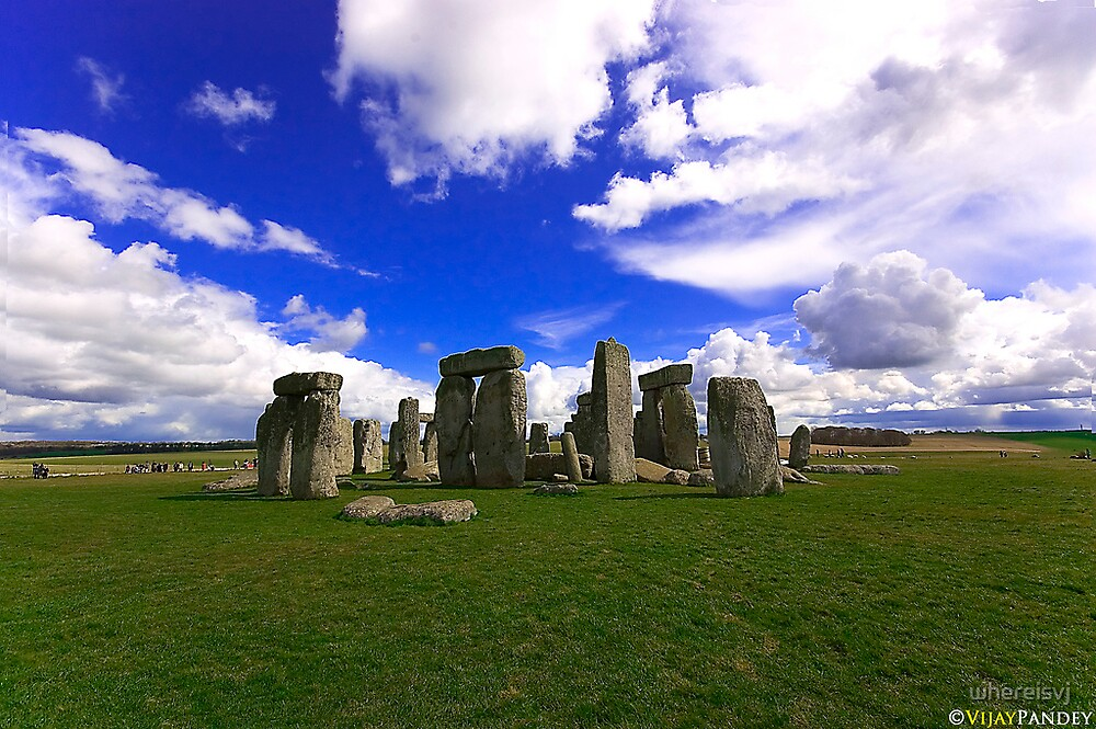 Stonehenge by whereisvj