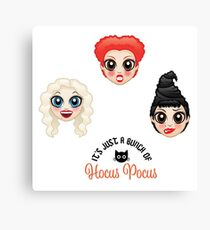 A Bunch of Hocus Pocus (sticker optimized) Canvas Print