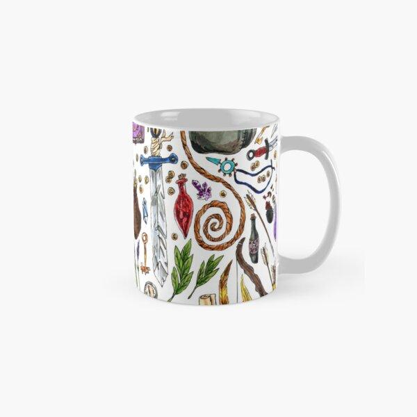 Fantasy Supplies Marker Illustration Classic Mug