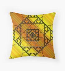 Fractal Geometry Throw Pillow