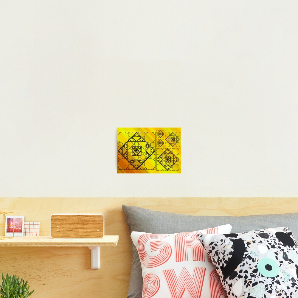 Fractal Geometry Photographic Print