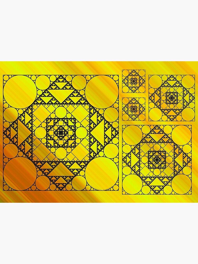 Fractal Geometry by ValerieDesigns