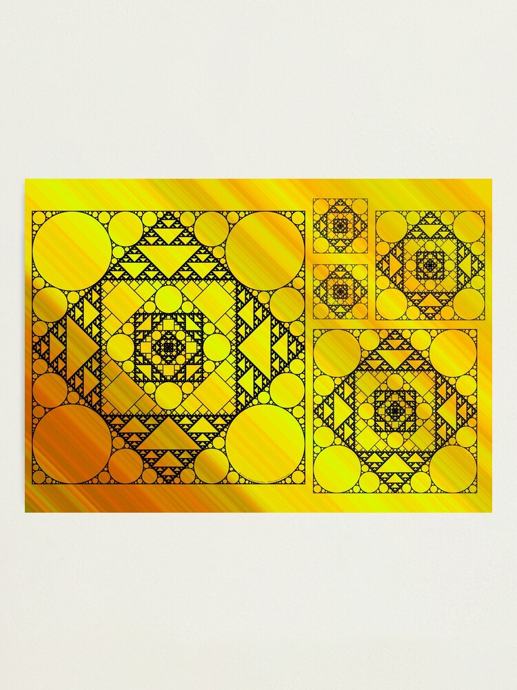 Alternate view of Fractal Geometry Photographic Print