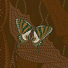 Aboriginal Swallowtail by Valerie Hartley Bennett
