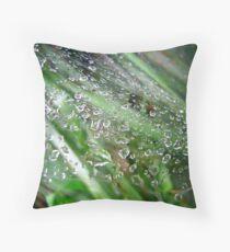 Water Damage Throw Pillow