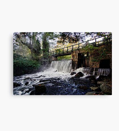 The Dam - Stevens Brook Canvas Print