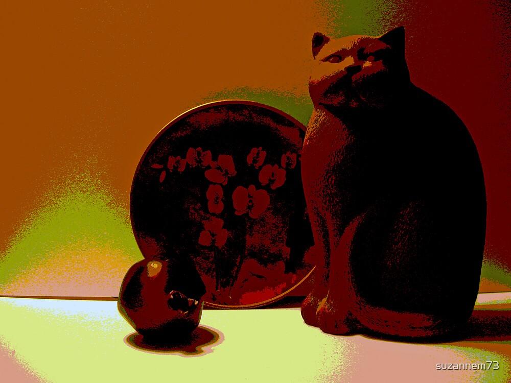 Oriental Cat by suzannem73