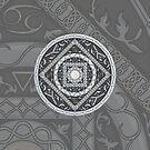 Cancer Mandala by Valerie Hartley Bennett