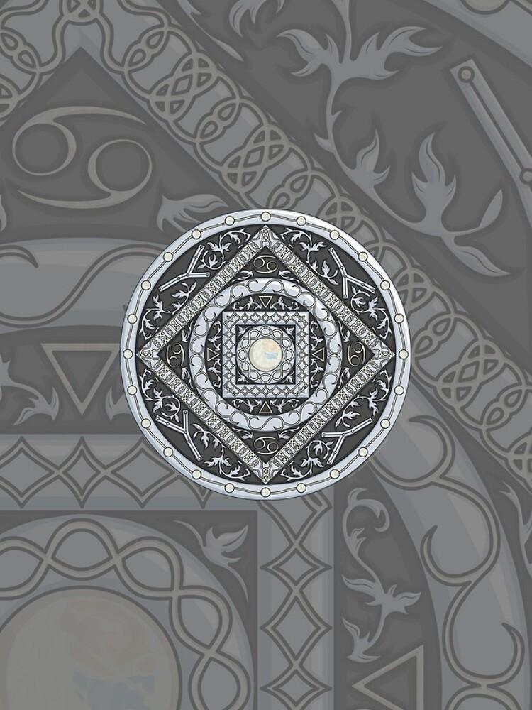 Cancer Mandala by ValerieDesigns