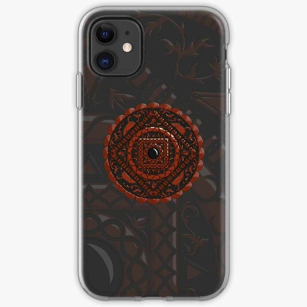Leo Mandala iPhone Case & Cover