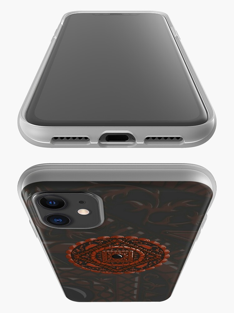 Alternate view of Leo Mandala iPhone Case & Cover