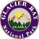 GLACIER BAY NATIONAL PARK ALASKA MOUNTAINS HIKING CAMPING HIKE CAMP 2 by MyHandmadeSigns