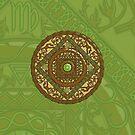 Virgo Mandala by Valerie Hartley Bennett