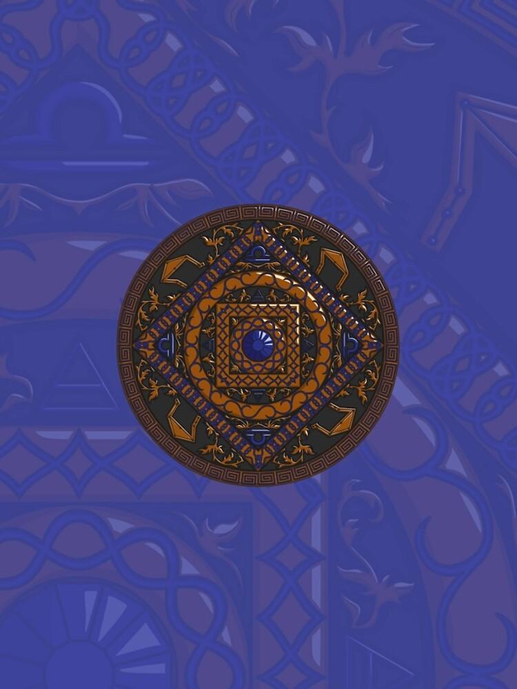 Libra Mandala by ValerieDesigns