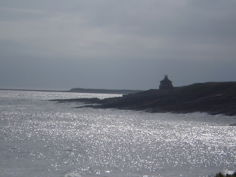 A Sparkling Sea, Northumbria by oscars