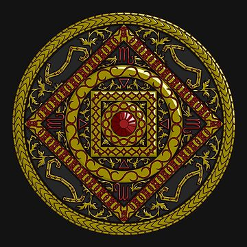Scorpio Mandala by ValerieDesigns