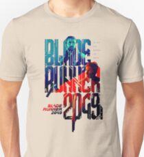 Camiseta unisex corredor de la lámina del logotipo