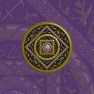 Sagittarius Mandala by Valerie Hartley Bennett