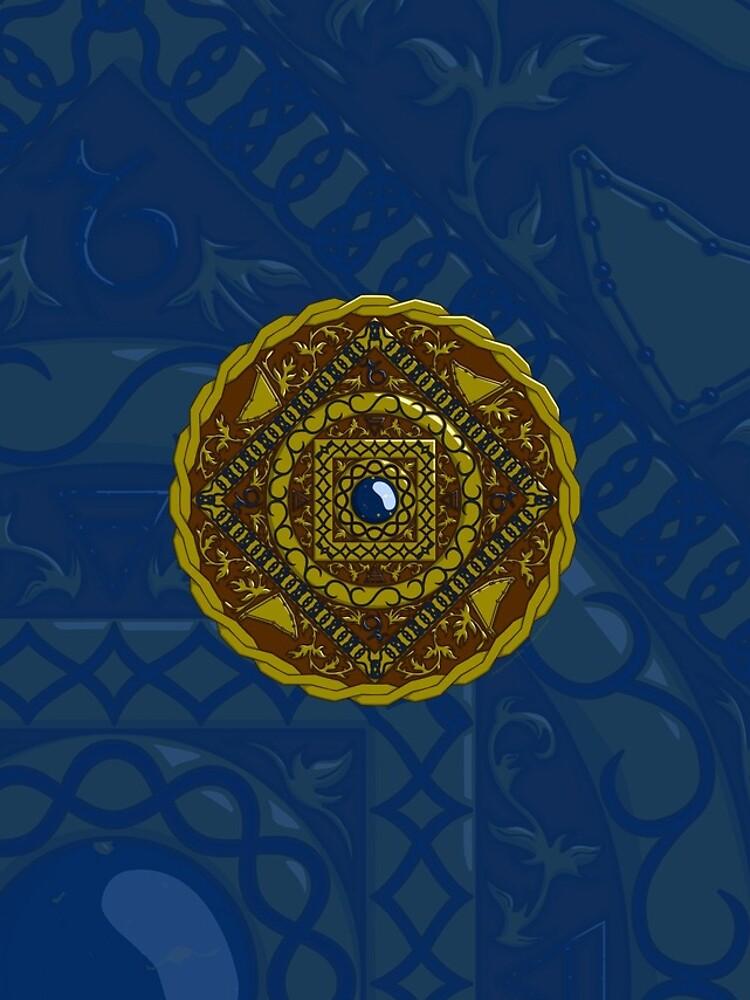 Capricorn Mandala by ValerieDesigns