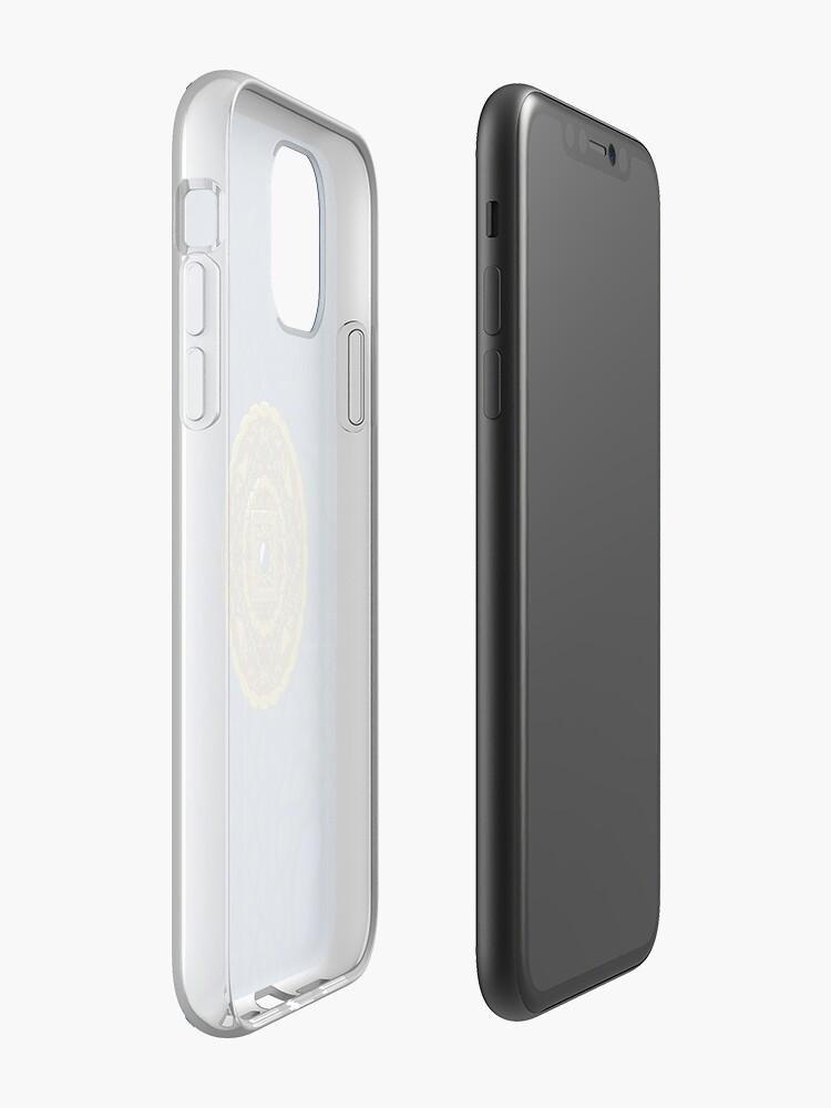 Alternate view of Capricorn Mandala iPhone Case & Cover