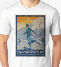 Vintage Posters: 1924 Winter Olympics T-Shirt