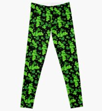 St Patrick's Day Shamrock pattern Leggings