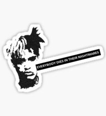 XXXTentacion shirt Sticker