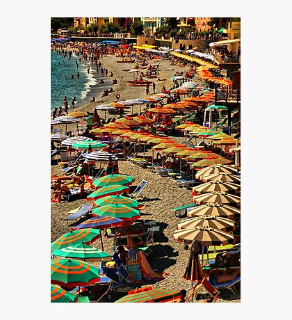 Monterosso Beach Photographic Print