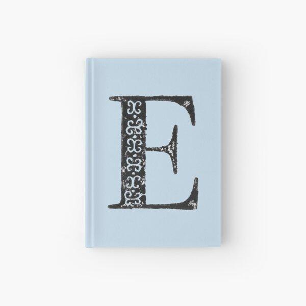 Serif Stamp Type - Letter E Hardcover Journal