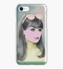 Her - The Girl With The Pink Face iPhone Case/Skin