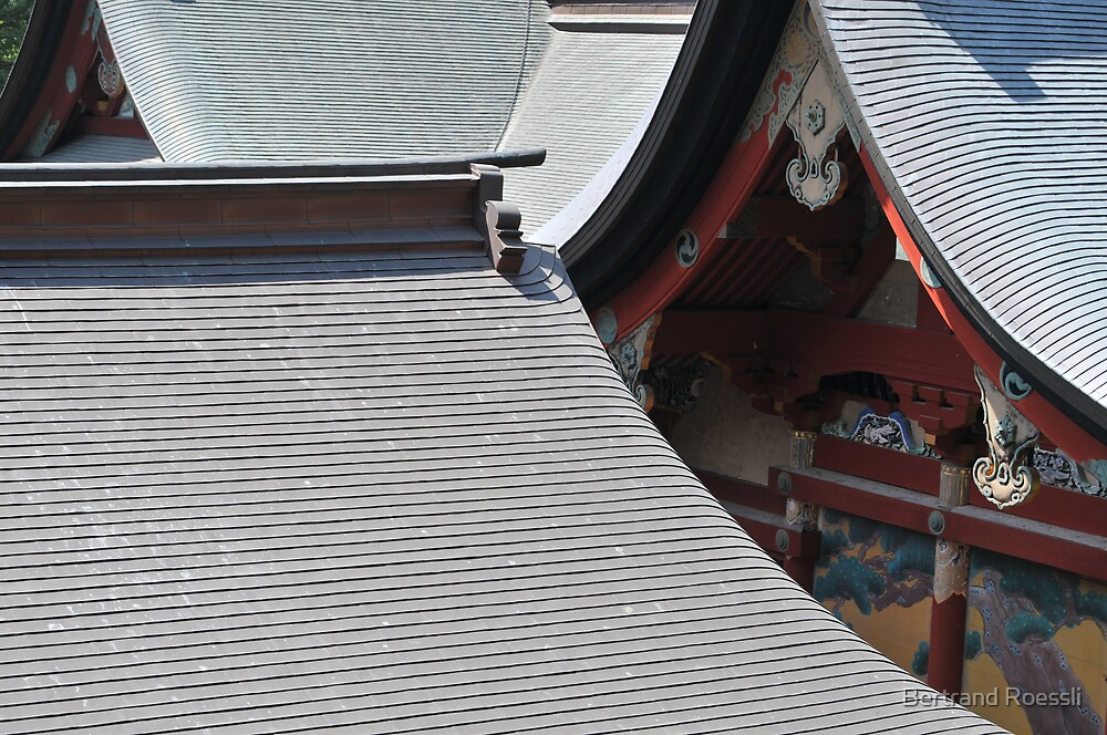 Tsurugaoka shrine by Bertrand Roessli