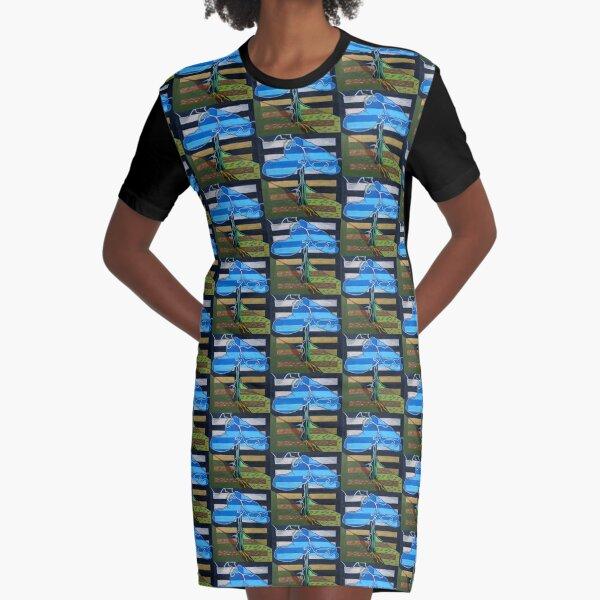 Hexagram 3: Chun (Difficulty at the Beginning) Graphic T-Shirt Dress
