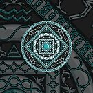 Aquarius Mandala by Valerie Hartley Bennett