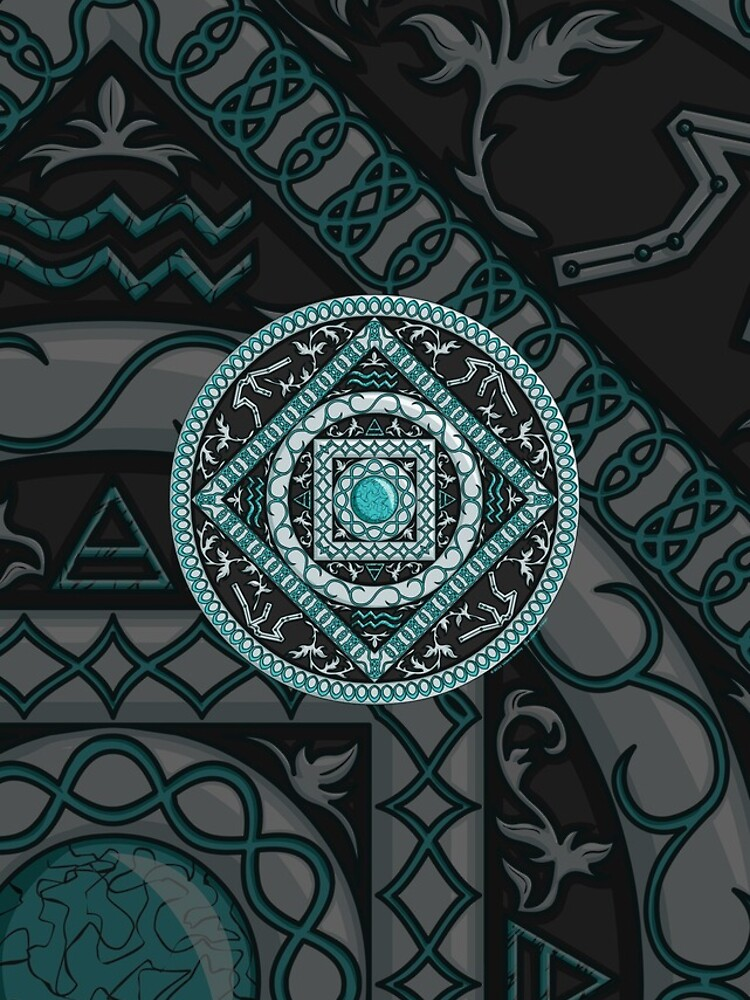 Aquarius Mandala by ValerieDesigns