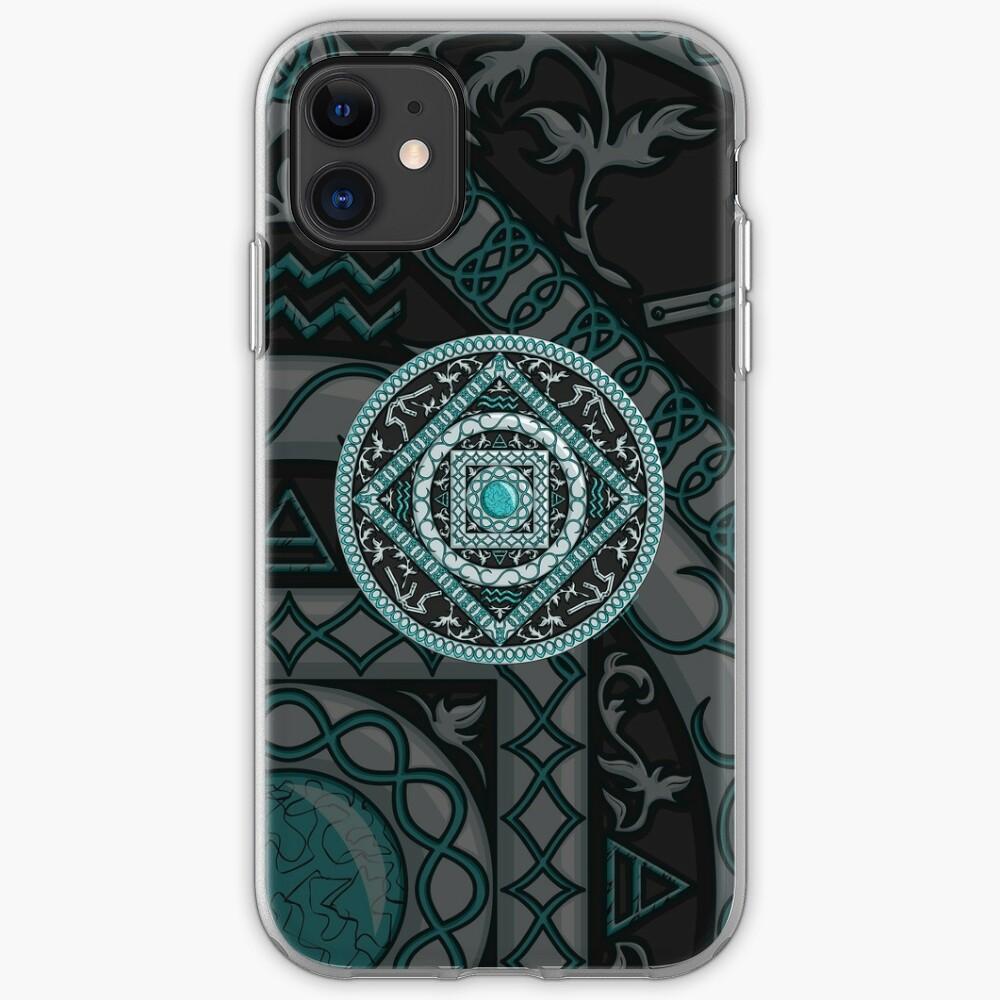 Aquarius Mandala iPhone Case & Cover