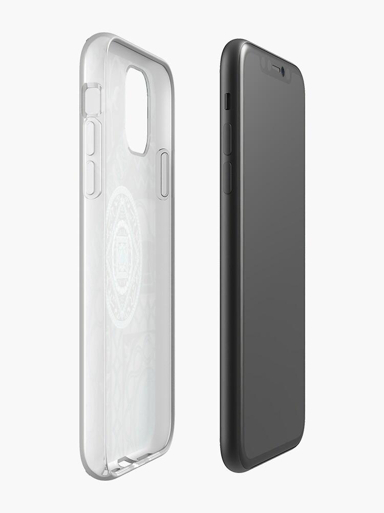 Alternate view of Aquarius Mandala iPhone Case & Cover