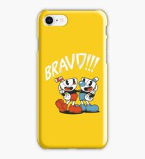 Cuphead - BRAVO!!! iPhone Case/Skin