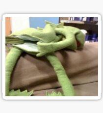 Kermit after the divorce Sticker