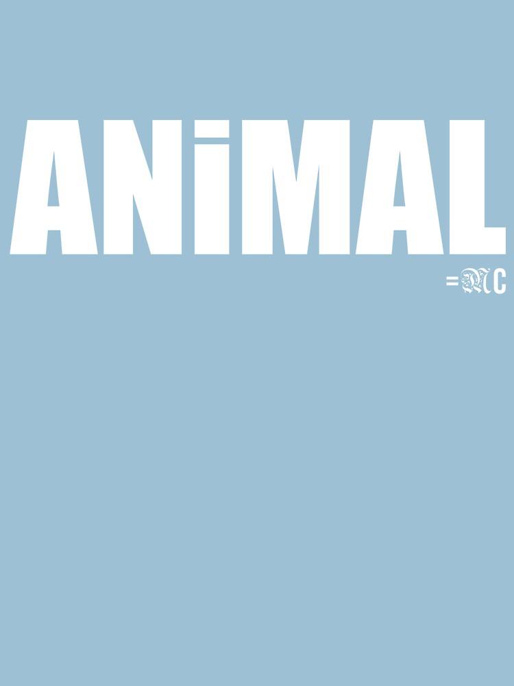 ANIMAL tee + hoodie by MCANTO