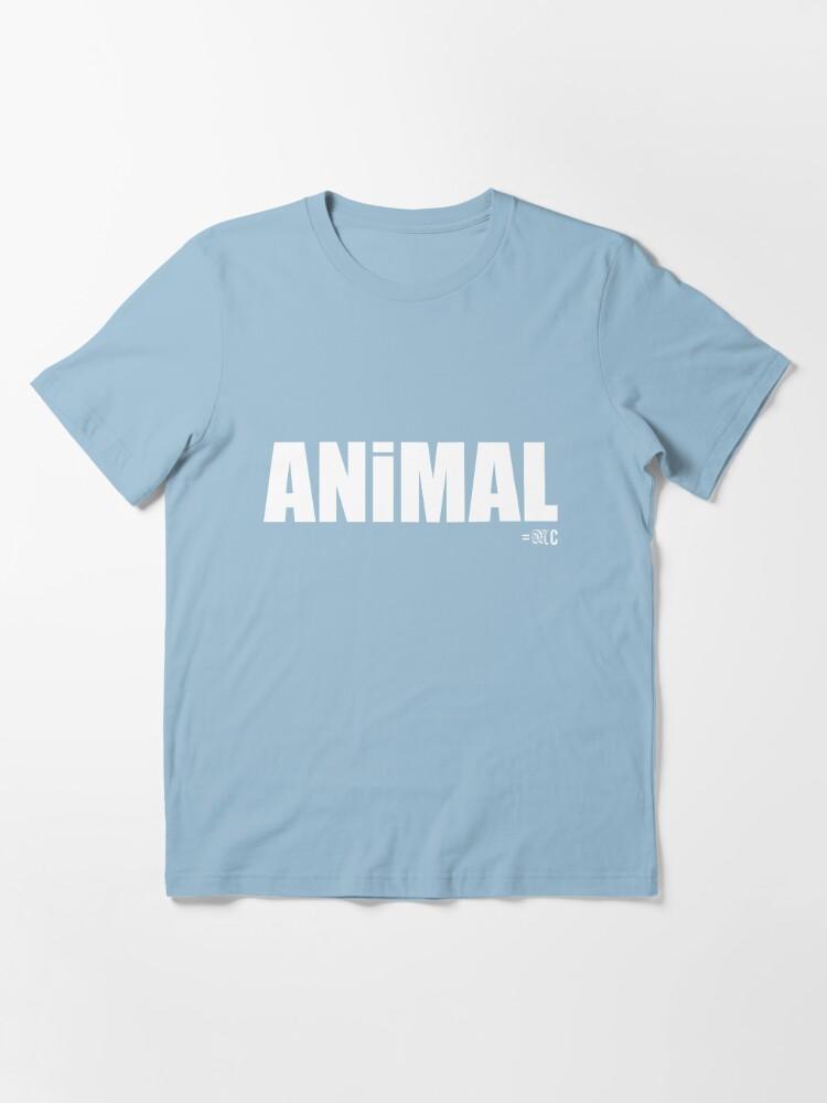 Alternate view of ANIMAL tee + hoodie Essential T-Shirt