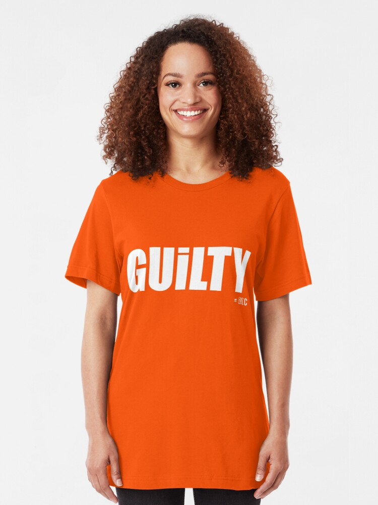 Alternate view of GUILTY tee + hoodie Slim Fit T-Shirt