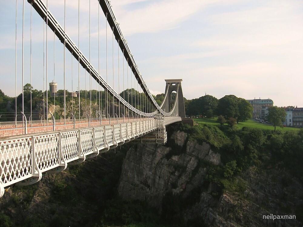 Clifton Suspension Bridge by neilpaxman