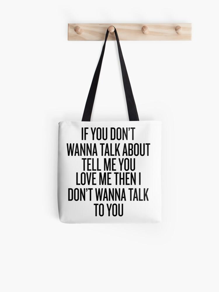 sag mir nicht du liebst mich