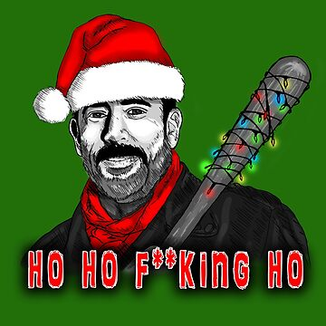 Negan Christmas (censored) by afletcher