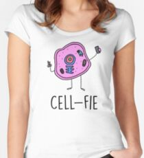Funny Biology Shirts Women Men Tee Gift Women's Fitted Scoop T-Shirt