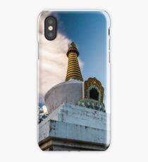 Stupa in Dingboche iPhone Case/Skin