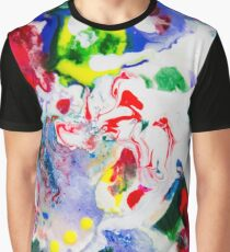 transdimensional candy cane » abstract art » modern art Graphic T-Shirt
